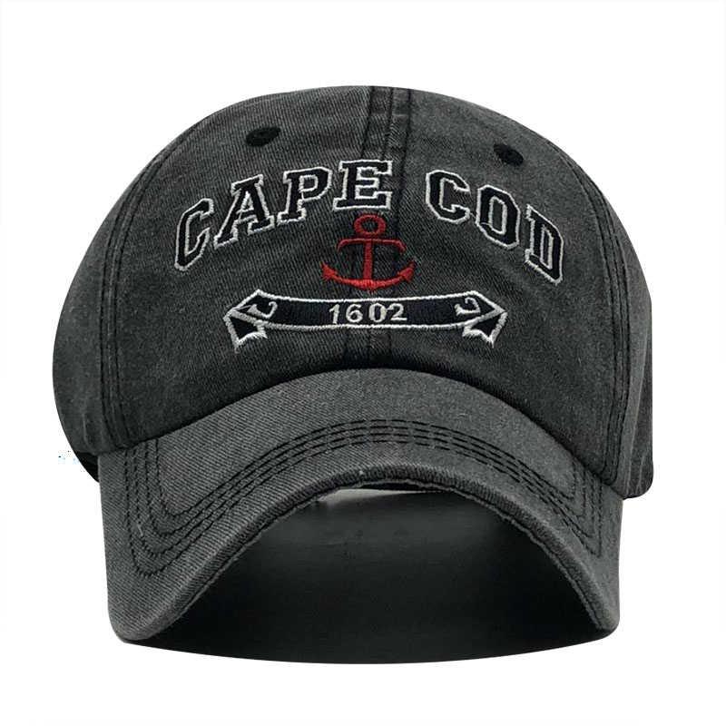 Marka yıkanmış yumuşak pamuklu beyzbol şapkası şapka kadın erkek vintage baba şapka 3d nakış rahat açık spor kap