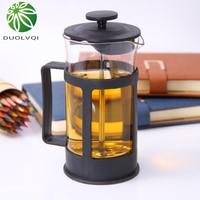 Plástico francês prensas pote de café filtro cafeteira casa moka máquina de café pote de café percolador ferramenta 350ml Cafeteiras     -
