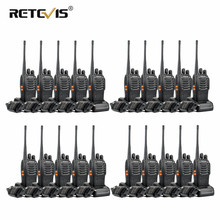 20 pcs Walkie Talkie Retevis H777 Portable Radio Two Way Radio Communicator Interphone 5W 16CH UHF 400-470MHz Moscow Ship