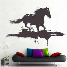 Modern Horse Removable Vinyl Wall Decal Art by Designers wall decal horse home decor JH215