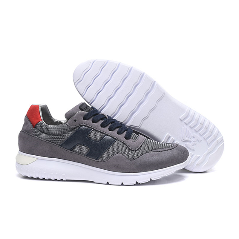 Hogan Men's Outdoor Vulcanized Shoes Athletics Jogging Sneaker Breathable Casual Walking Running Shoes Men Trainers Footwear