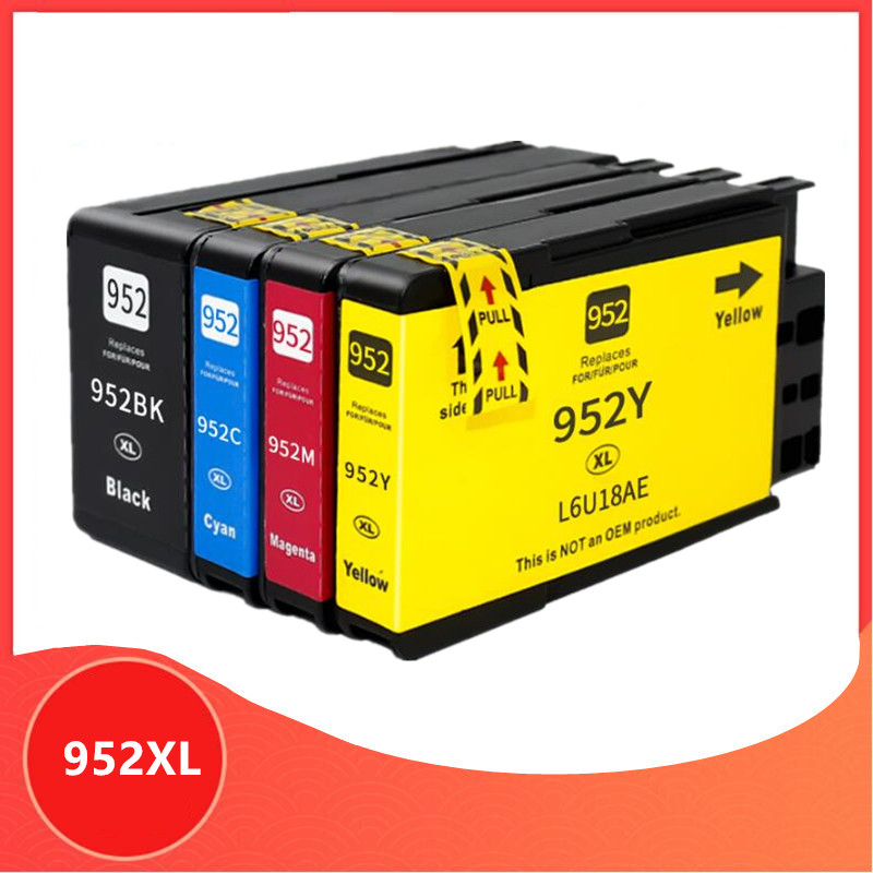 For HP952 <font><b>952XL</b></font> Ink Cartridge for HP 952 For Officejet Pro 7740 8210 8218 8710 8715 8718 8719 8720 8725 8728 8730 8740 Printer image