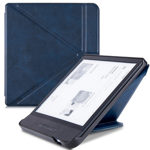 """Origami Case for All-new 7"""" Tolino Vision 5 eReaders 2019, Premium PU Leather Multiangle Stand Shell Cover with Auto Sleep/Wake(China)"""