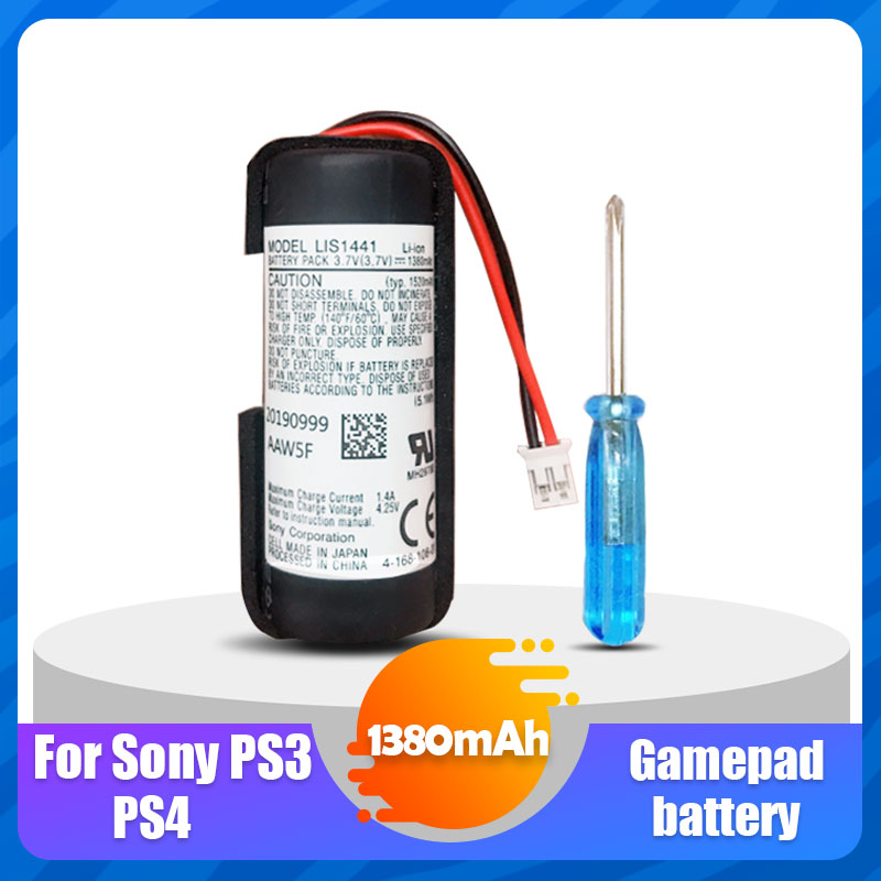 3,7 V 1380mAh LIS1441 LIP1450 литиевая аккумуляторная батарея для Sony PS3 PS4 PlayStation Move контроллер движения игровой автомат