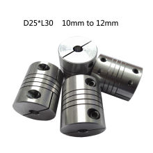 CNC Flexible Coupling Shaft Coupler Motor Connector Diameter 25MM/30MM Aluminum Alloy Shaft Coupling Flexible Coupler for Motors bw40t od40 l55 flexible metal bellow shaft coupling