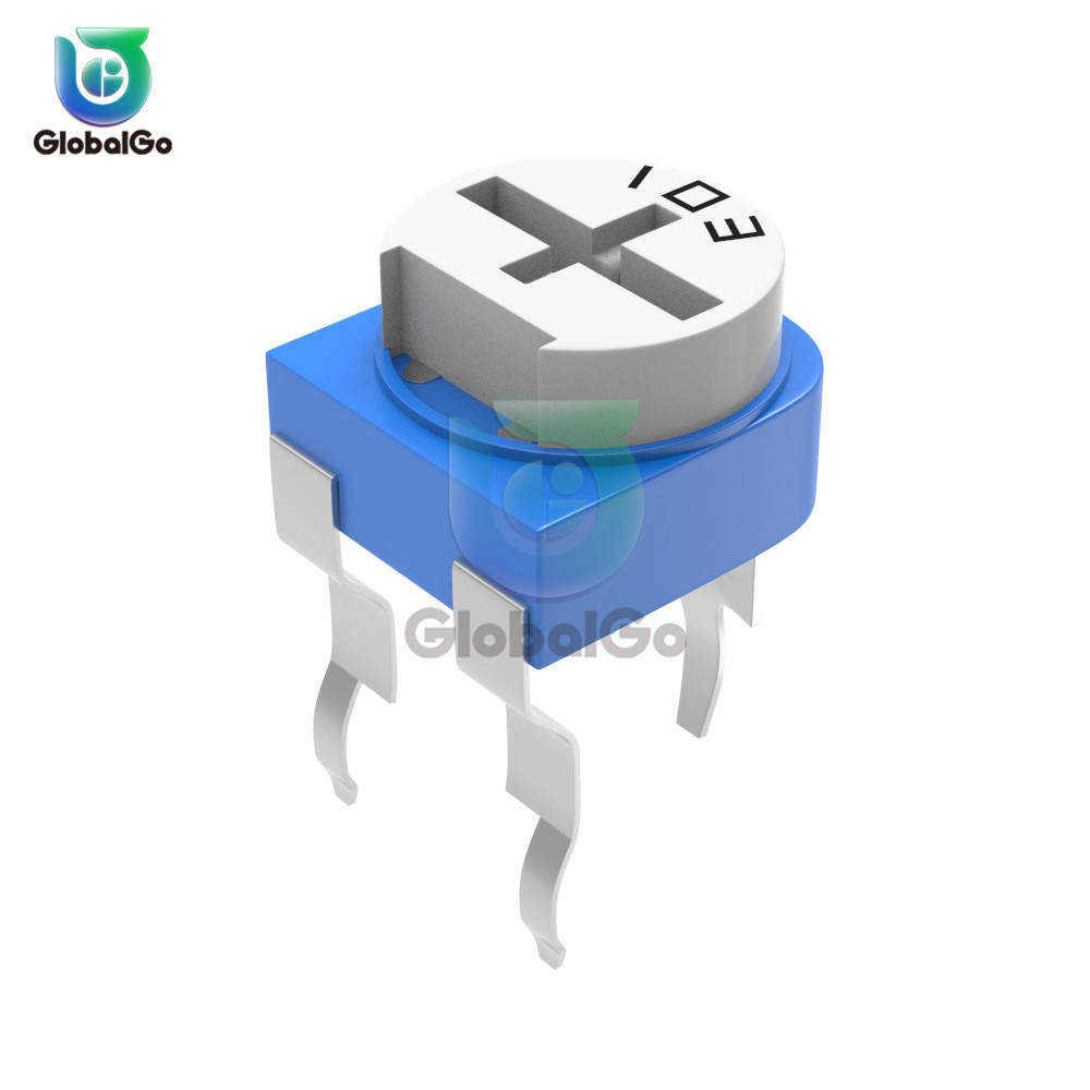 10pcs/Lot RM065 Trimmer Potentiometer Variable Resistor 100 200 500 1K 2K 2.2K 3K 5K 10K 20K 50K 100K 500K 1M Ohm RM065 WH06-2