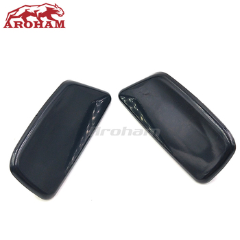 Pair 86636SC030VW 86636SC020VW For Subaru Forester 2009 2010 2011 2012 Car Left Right Headlight Washer Nozzle Jet Cover Cap image