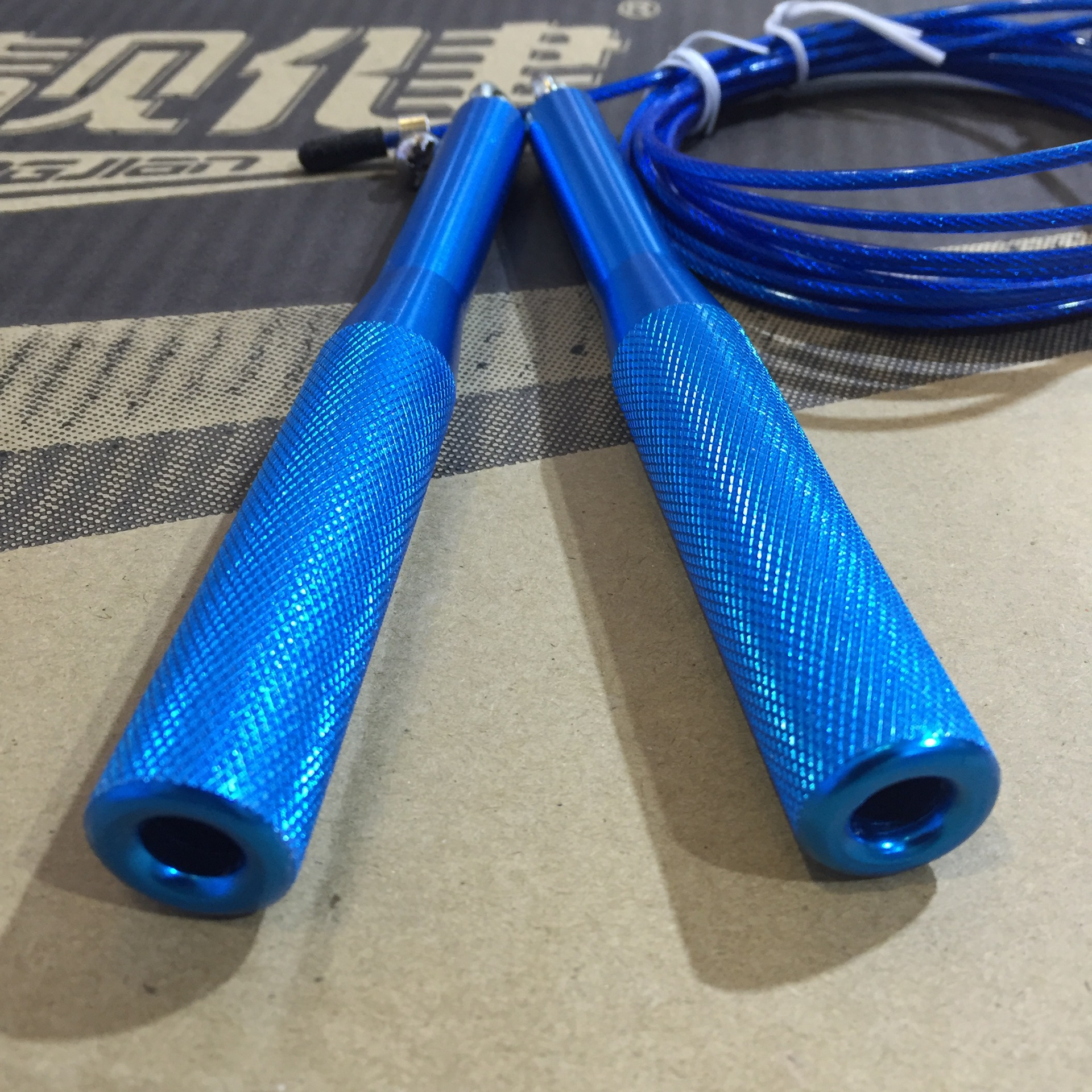 Manufacturers Direct Selling Liang Jian Aluminium Alloy Handle Steel Wire Jump Rope  Speed Jump Rope Fitness Gift Adult's Skipp