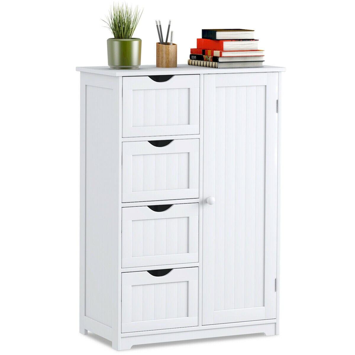 Bathroom Cabinet Storage Cupboard