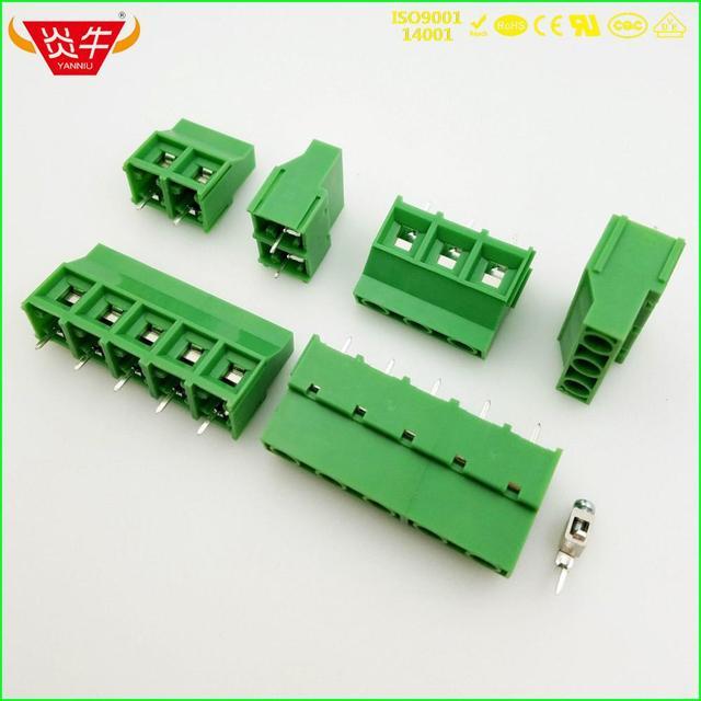 KF950 9,52 2P 3P PCB универсальные Винтовые клеммные блоки DG636 9,52 мм 2PIN 3PIN MKDS 5/2 9,52 11714971 PHOENIX CONTACT DEGSON KEFA
