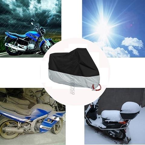 uv anti capas de motocicleta para tigre 800