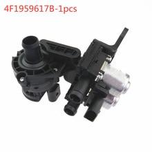 SCJYRXS Car Air Coolant Heater Control Valve 4F1959617B For A6 S6 Avant RS6 2008-2011 4F19 596 17B 4F1959617A V1077043