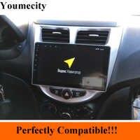 Youmecity 2 グラムアンドロイド 9.0 2 喧騒車の DVD GPS 現代 Solaris 2011 2012 2014 2015 2016 ヘッドユニットラジオビデオプレーヤー wifi