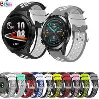 Fascia del braccialetto 22 MILLIMETRI Per huawei orologio gt 2e / GT 1 / GT2 46 MILLIMETRI smartwatch di Ricambio In Silicone Cinturino per Huawei Orologio 2 pro