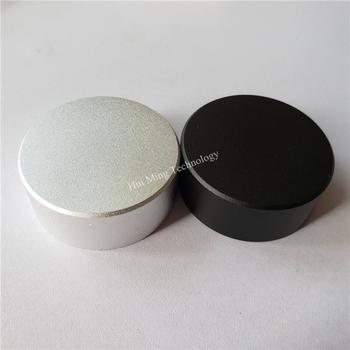 4 sztuk aluminium plastikowa gałka pokrętło potencjometru 48*19mm potencjometr cap pokrętło przełącznika głośności dla wzmacniacza tanie i dobre opinie Aluminum