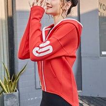 Mulheres outono esportes sem costura jaqueta de corrida ginásio mangas compridas fitness treino zip hoodies casual zippere esportes ao ar livre jaqueta