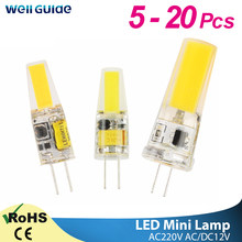 GreenEye LED G4 G9 Lamp Bulb 3W 6W 10W AC/DC 12V 220V 240V COB SMD LED G4 G9 Dimmable Lamp replace Halogen Spotlight Chandelier