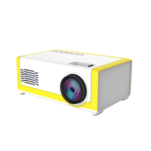Image 1 - 1800 lümen Mini projektör ev 1080P taşınabilir LED projektör LCD ekran teknolojisi eğlence konferans sistemi