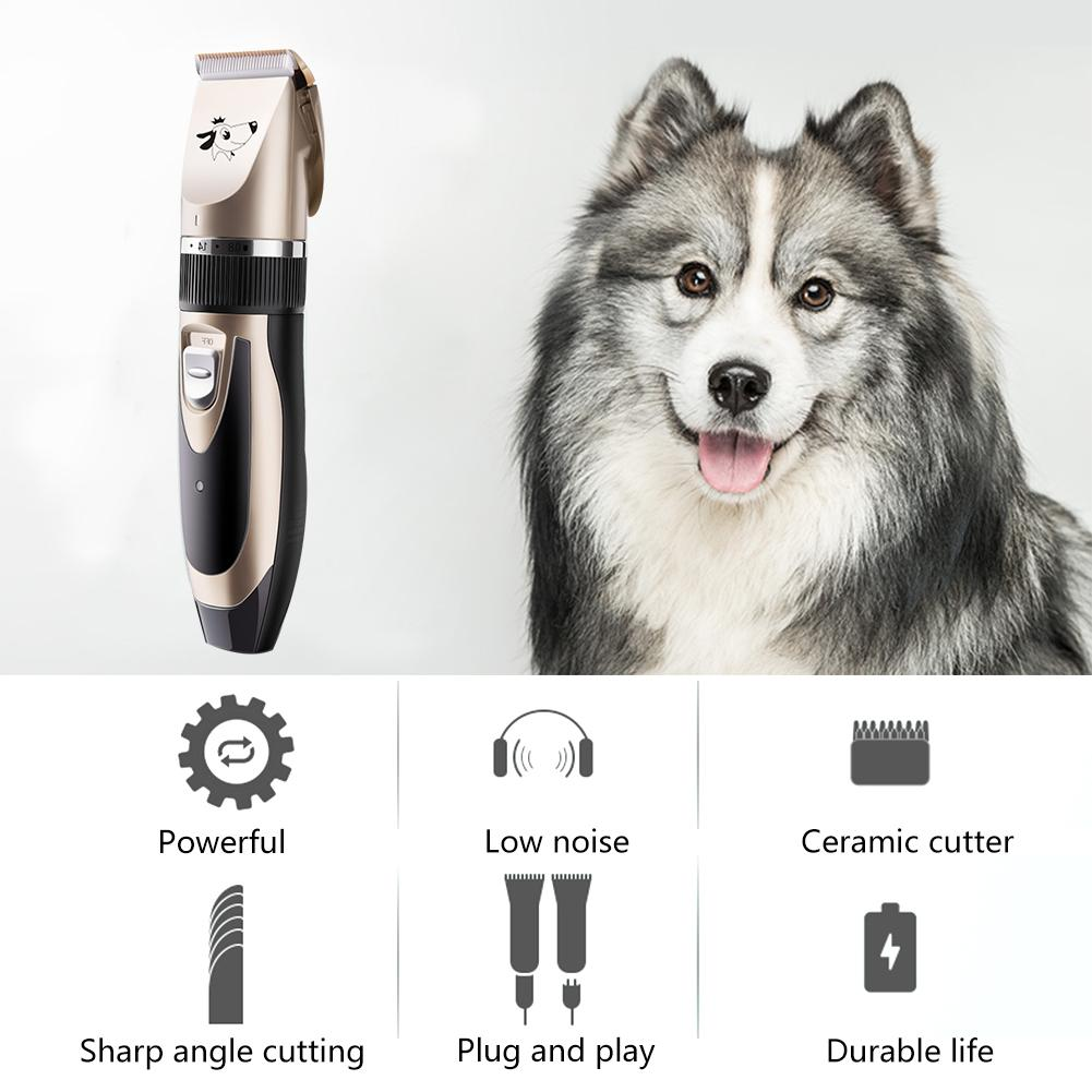 Canine - PetClip™ Professional Pet Hair Trimmer USB Rechargeable Dog Cat Hair Clipper