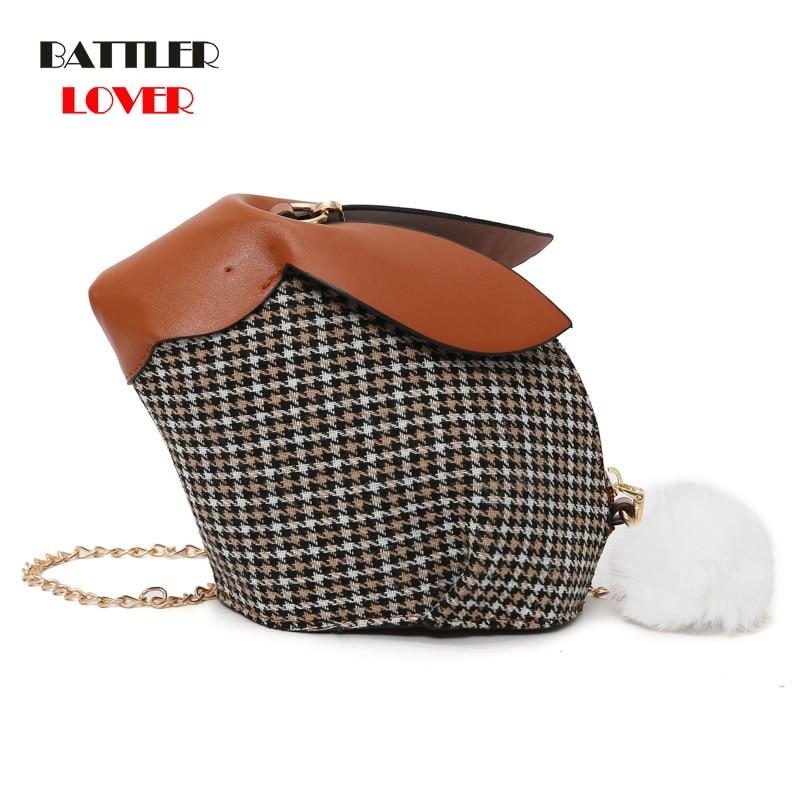 Rabbit Shape Design Bags for Women 2019 Bags Women Handbag Bolsa Feminina Shoulder Messenger Bag Girls Luxury Handbags Women Bag