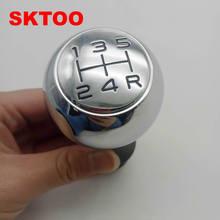 SKTOO pomo de palanca de cambios de balonmano para Peugeot206 207, 208, 307, 308, 408, 508, 301 pomo de cambio/CitroenC2 C3 C5 para Picasso, Elysee C-Quarte CTriomphe