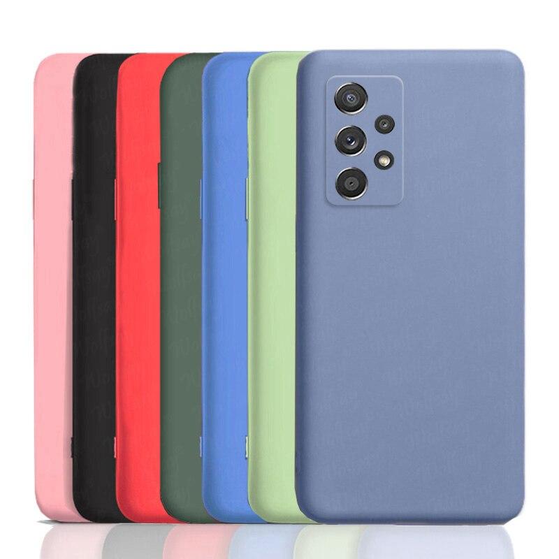 Чехол для Samsung Galaxy A52, чехол для Samsung A52, A72, A12, M51, мягкий силиконовый защитный резиновый чехол для Samsung Galaxy A52