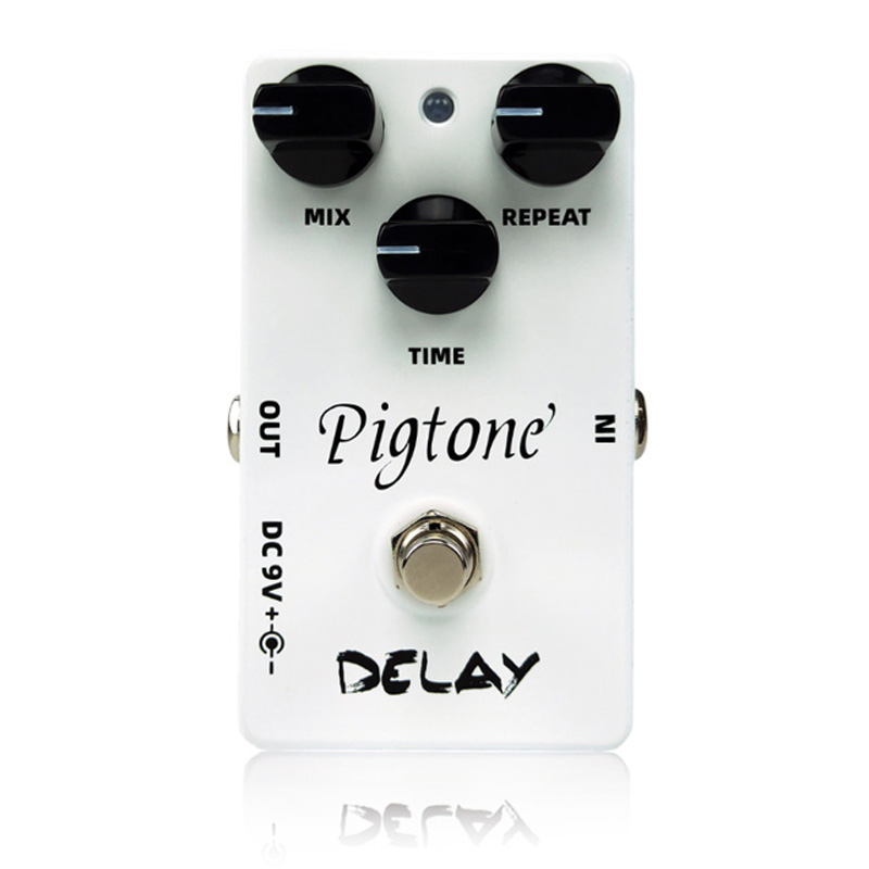 Pigtone PP-07 delay Guitar effect pedal acoustic electric guitar accessories effects pedals Real bypas