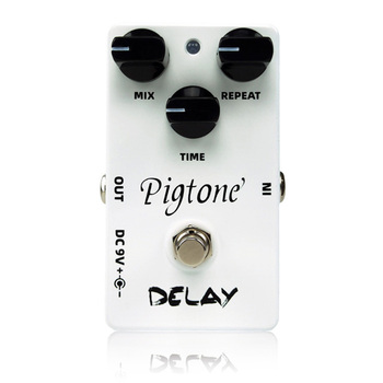 Pigtone PP-07 delay Guitar effect pedal acoustic electric guitar accessories effects pedals Real bypas diy mod lovepedal dragon fuzz pedal electric guitar stomp box effects amplifier amp acoustic bass accessories effectors