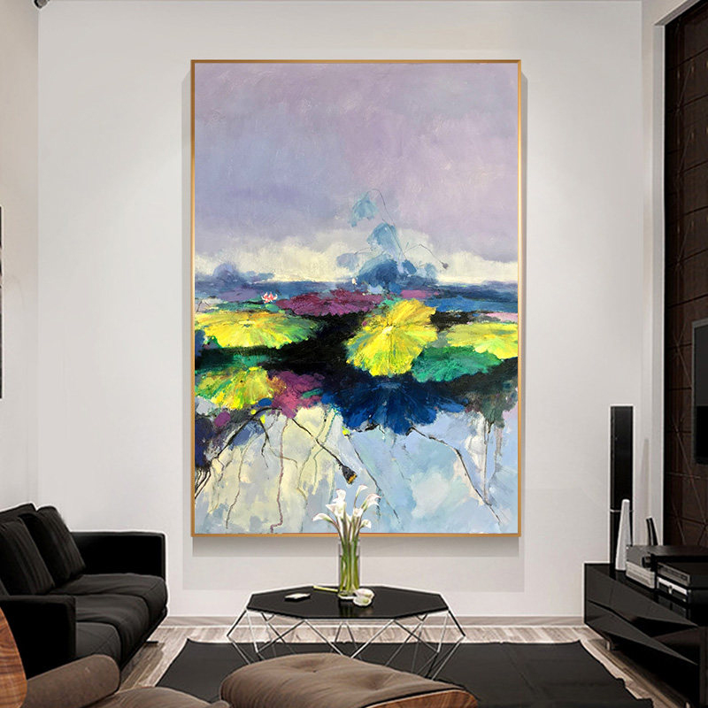 100-Hand-Painted-Abstract-Colourful-Scenerys-Art-Painting-On-Canvas-Wall-Art-Wall-Adornment-Pictures-For (4)