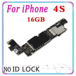 Image 2 - Бесплатная iCloud оригинальный для iPhone 6 6s 7 Plus iPhone 8 plus 6S плюс 4S материнская плата для iPhone 7 Plus, 8 Plus, материнскую плату с чипами IOS Мб
