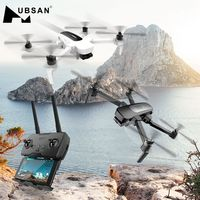 Hubsan H117S Zino GPS 5.8G 1KM Foldable Arm FPV with 4K UHD Camera 3 Axis Gimbal RC Drone Quadcopter RTF High Speed Racing FPV