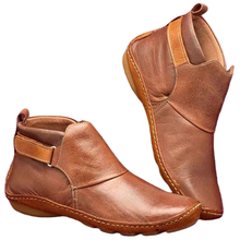 Arch Support Fashion Women Ankle Boots Casual Autumn Shoes Lightweight Short War