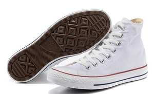 Converse Skateboard Shoes Women's Sneakers High-Top All-Star Unisex Light Canvas Classic