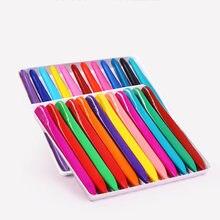 Crayon de coloriage triangulaire, 36 couleurs, pour écoliers et enfants, DJA88