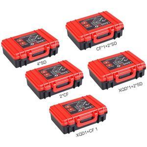 Image 2 - Battery Storage Box Portable Carrying Bag Memory Card Holder Case for Nikon EN EL14  EN EL15/Canon/Sony NP FW50 NP W126 NP BX1