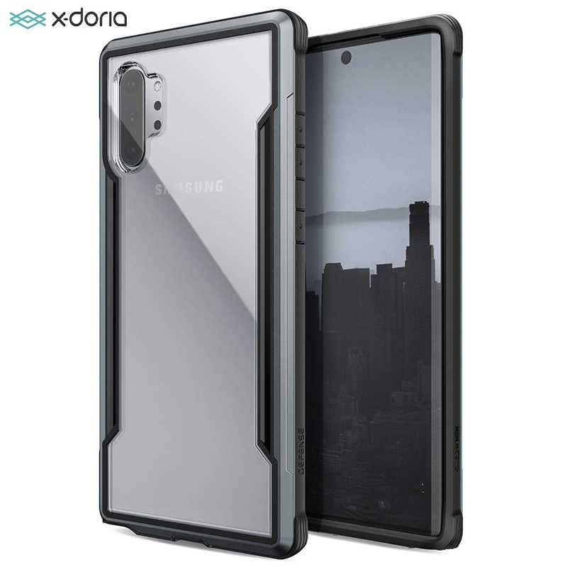 X-Doria Verdediging Schild Telefoon Case Voor Samsung Galaxy Note 10 Plus Militaire Grade Drop Getest Case Voor Note 10 Aluminium Cover