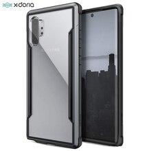 Защитный чехол X Doria для телефона Samsung Galaxy Note 10 Plus, чехол в стиле милитари с испытанием на падение для Note 10, алюминиевый чехол
