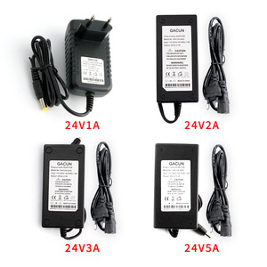 Power Adapter AC to DC 24V 1A