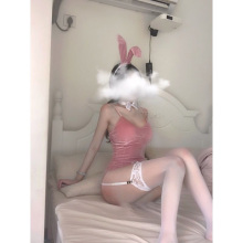 The New Black Lingerie Bodysuit Cosplay Cartoon Bunny Girls Sexy Uniform Temptation Rabbit Ears Catwoman