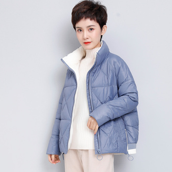 fashion women duck down coats  jackets winter and autumn girls 1