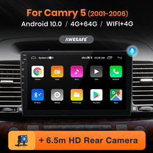 AWESAFE PX9 Für Toyota Camry 5 XV 30 2001 - 2006 Auto Radio Multimedia Video Player Navigation GPS Android 10,0 keine 2din 2 din DVD