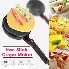 цена на Electric Crepe Maker Pizza Pancake Machine Non-Stick Griddle Baking Pan Cake Machine Kitchen Cooking Tools Sonifer