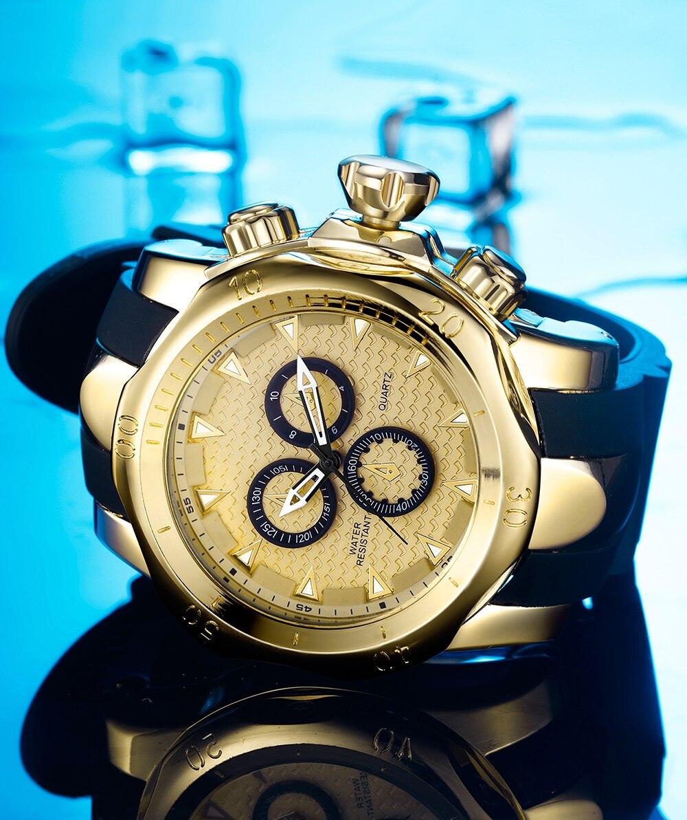 de luxo moda grande tamanho dial japonês