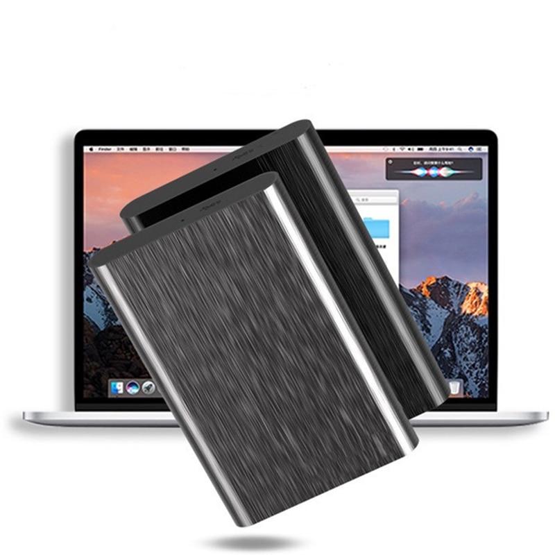 500GB/1TB/ 2TB External Hard Drives USB 3.0 2.5 Portable Ultra Thin Aluminum Alloy Metal Mobile Hard Disk 5