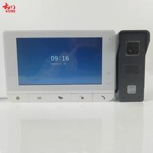 video door bell monitor kits 4 Wire Intercom System Video Door Phone Door Bell Security Tools