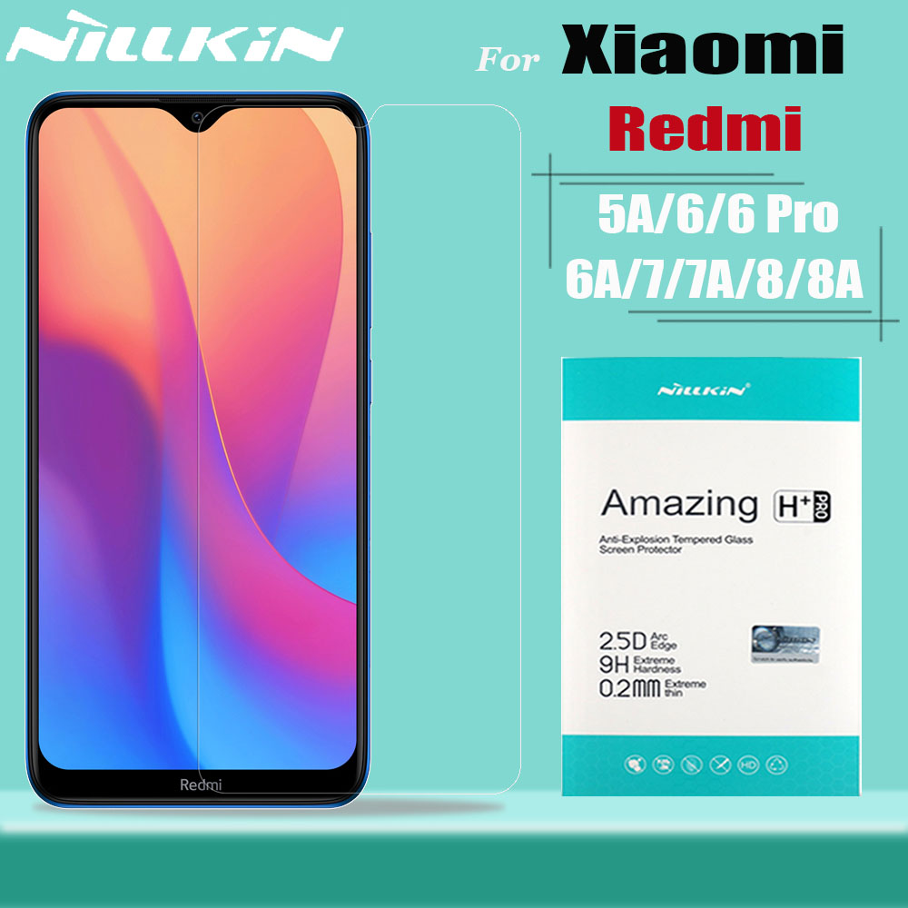 Nillkin Tempred Glass For Xiaomi Redmi 8A 8 7A 7 5A Glass Screen Protector 9H Safety Protective Glass On Redmi 8A 8 7A
