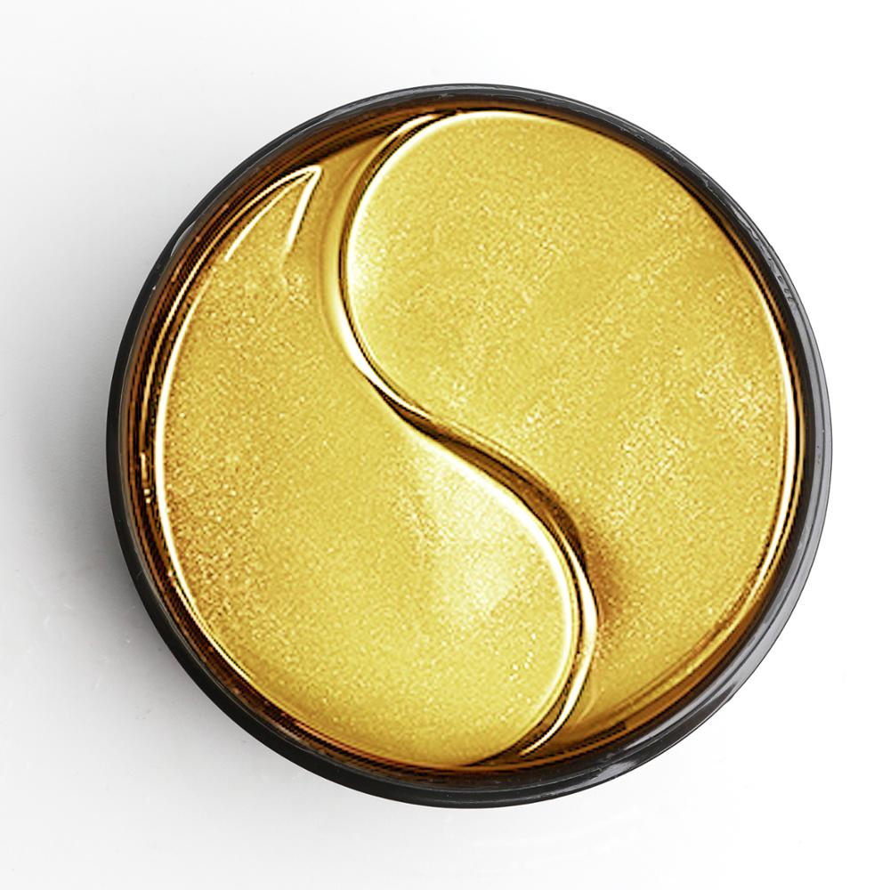 60pcs-Gold Collagen Eye Mask Seaweed Green Algae Eye Patches for Dark Circle Hydrating Eye Pad Anti-Wrinkles Nourishing-2