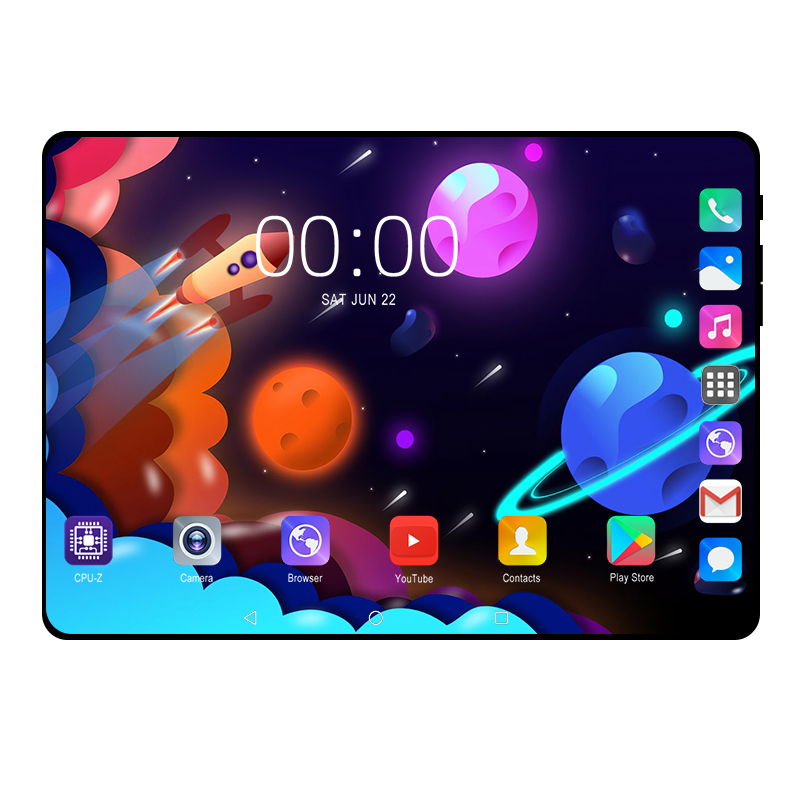 Newest 8GB+128GB 10.1 Inch Android 9.0 tablet pc 10 Core 4G FDD LTE Wifi Bluetooth Phone call 1920*1200 IPS Glass Screen Tablets