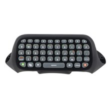 цена на Mini Keyboard Wireless Controller Text Messenger Keyboard 47 keys Chatpad Keypad for Xbox 360 Game Controller Black