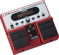 Boss VE20 ve-20 vocal performer multifunction pedal, acoustic echo portable effect processor